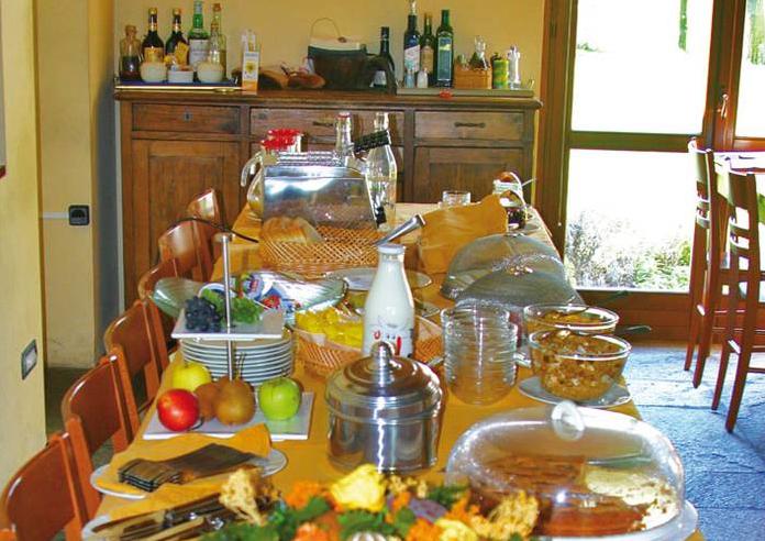 Ontbijt van Agriturismo Lago Wellness