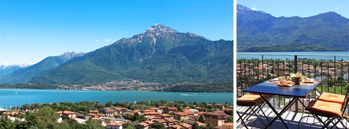 Uitzicht vanaf Appartement Giardino Maria