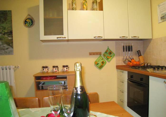 De keuken van appartement Mena