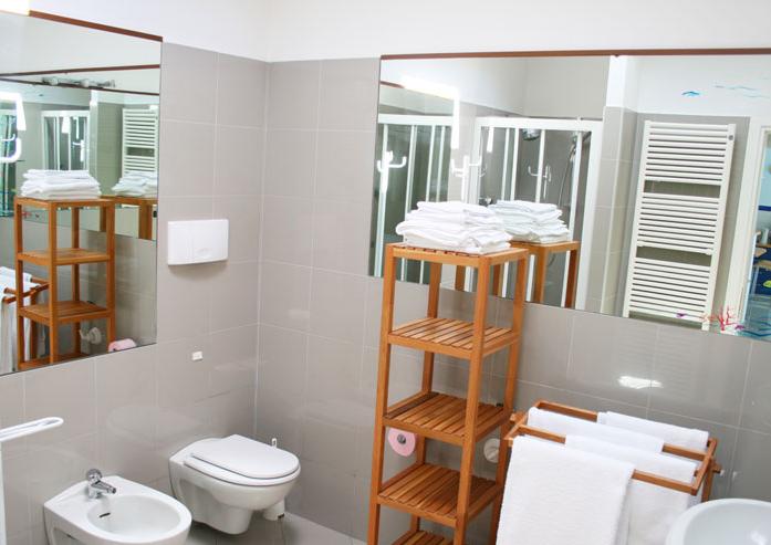 Badkamer van Villa Darsene