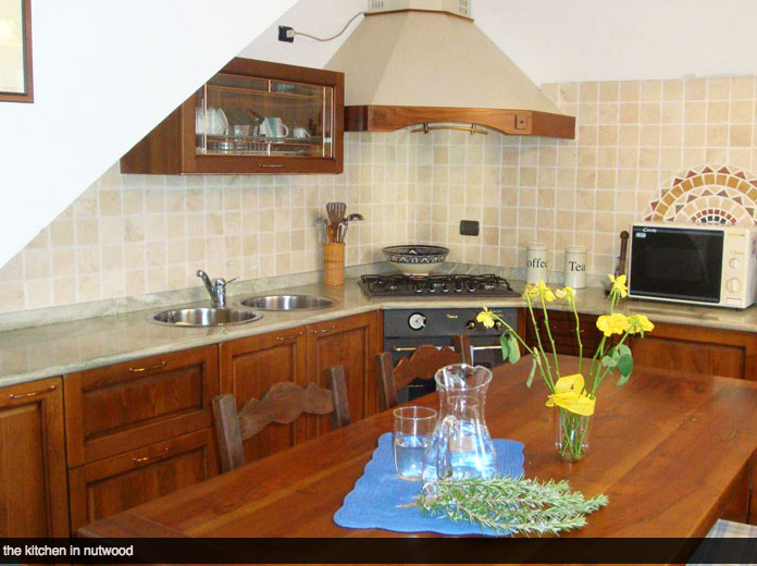 Keuken Rustico dei Vini
