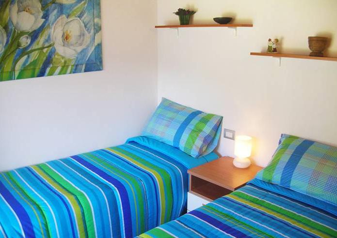 Slaapkamer vakantiehuis Rustico Ronchi