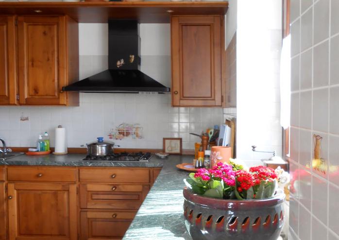 Keuken villa Tschuetta