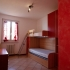 Slaapkamer met stapelbad