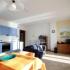 Woonkamer en keuken van appartement Breva