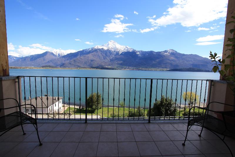 Balkon met prachtig uitzicht