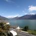 Het uitzicht op Gera Lario en het Comomeer