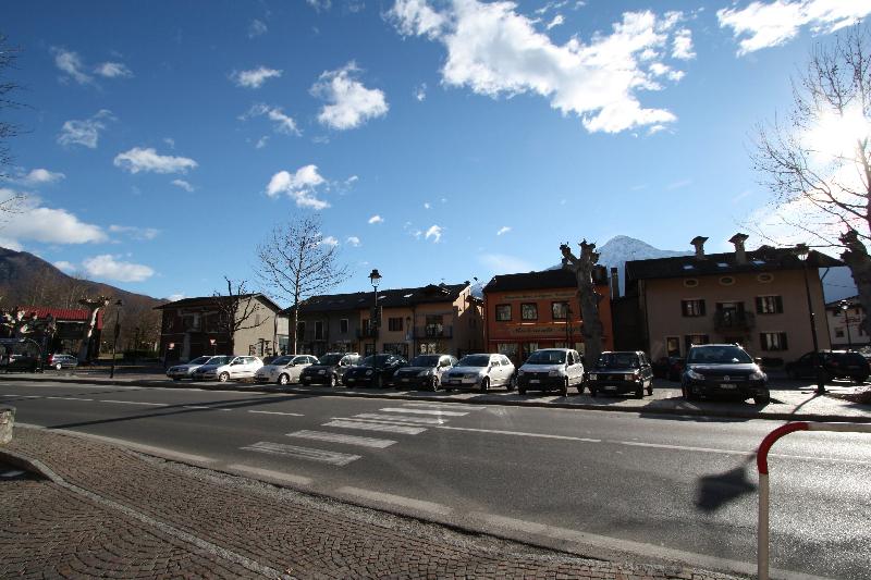 Het dorpscentrum van Sorico