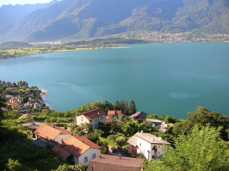 Uitzicht vanaf Trezzone