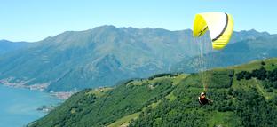Paragliden Vakantie Comomeer