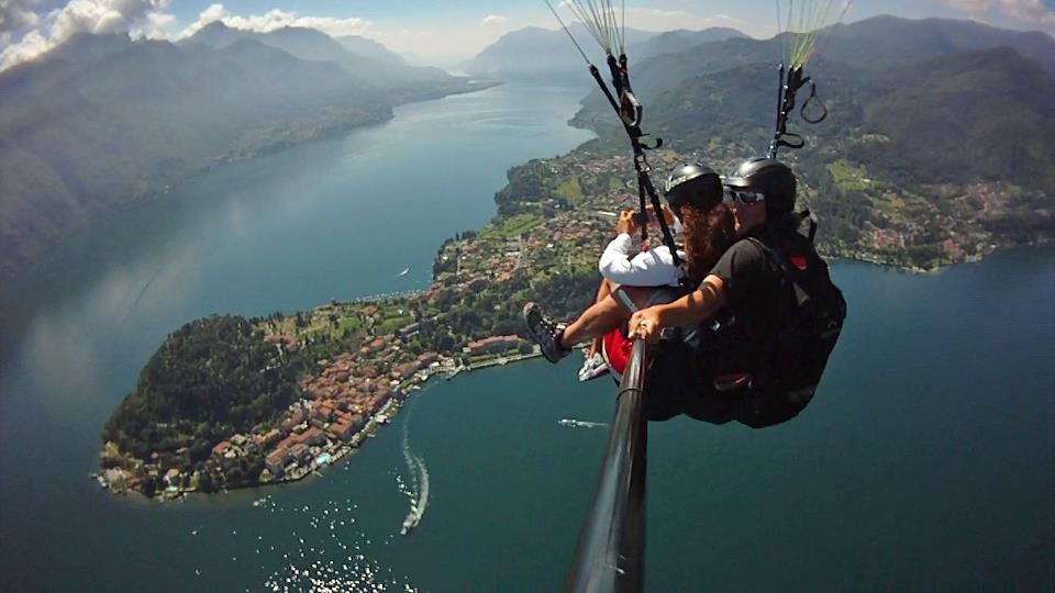 Paragliden met Fabio Conti